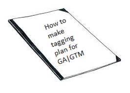 tagging plan for ga/gtm