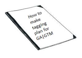 tagging plan for ga/gtm