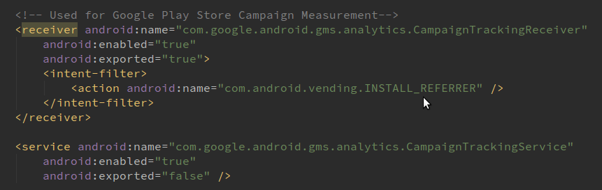 Google Tag Manager for Android and iOS devices