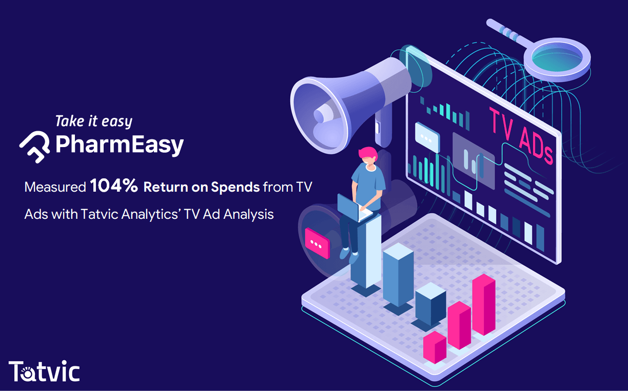 PharmEasy Leveraged TV Ad Analytics by Tatvic & Measured